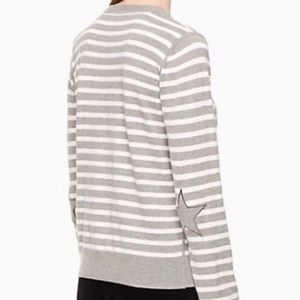 NWT Kate Spade Broome Street Star Patch Sweater